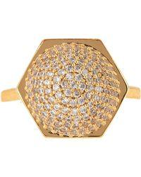 Rachel Zoe - Sophia Pave Sphere Ring - Size 7 - Lyst
