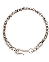 Link Up - Metal Chain Hook Bracelet - Lyst