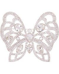 Swarovski - Butterfly Crystal Brooch - Lyst