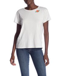 Mother - Boxy Goodie Goodie Tee - Lyst