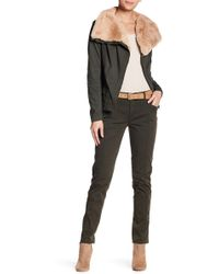 Marrakech - Leone Solid Stretch Fit Trousers - Lyst