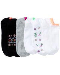 Hue - Liner Socks - Pack Of 6 - Lyst