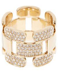 Swarovski - Cube Crystal Ring - Size 52 (us 6) - Lyst
