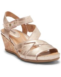 Earth - Thistle Wedge Sandal - Lyst