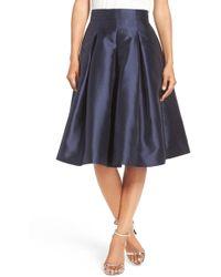 Eliza J - Release Pleat Full Skirt - Lyst
