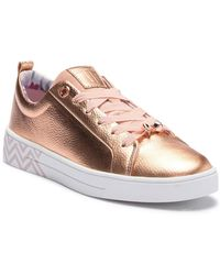 Ted Baker - Ahfiraj Leather Sneaker - Lyst