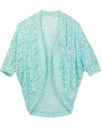 Soprano - Lace Cocoon Open Front Cardi (big Girls) - Lyst