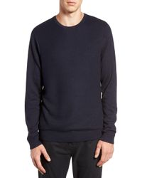 Calibrate | Honeycomb Stitch Crewneck Sweater | Lyst