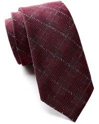 Ben Sherman - Wilson Textured Plaid Silk Tie - Lyst