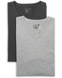 Joe's Jeans Stretch Modern Fit V-neck Tee - Pack Of 2