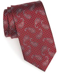 JZ Richards - Paisley Petal Silk Tie - Lyst