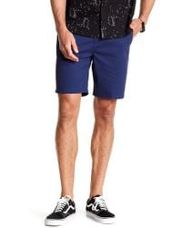 Tavik - Annex Solid Walk Shorts - Lyst
