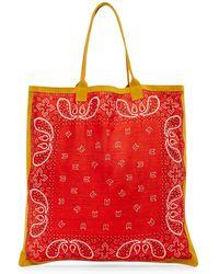 Raj - Bandana Print Shopper Tote - Lyst