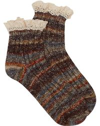 Free People - Summit Heather Hiker Socks - Lyst