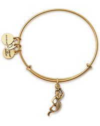 ALEX AND ANI - Mermaid Expandable Wire Charm Bracelet - Lyst