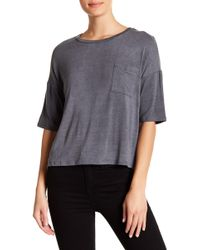 Project Social T - Washed Pocket Tee - Lyst