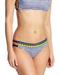 Sperry Top-Sider - Crochet Stripe Bikini Bottoms - Lyst