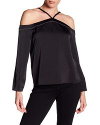 Cooper & Ella - Joline Cold Shoulder Blouse - Lyst