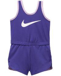 Nike - Dri Fit Sport Essentials Romper (baby Girls) - Lyst