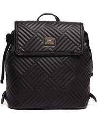 Love Moschino - Shiny Quilted Backpack - Lyst
