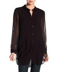 BCBGeneration - Overlapped Side Shirt - Lyst