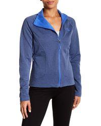 The North Face - Needit Asymmetrical Zip Up Jacket - Lyst