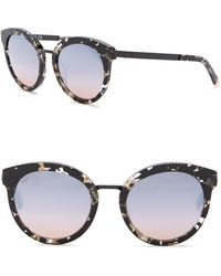 Web - We0196 Round 52mm Acetate Sunglasses - Lyst