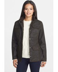 Barbour   Waxed Cotton Utility Jacket   Lyst