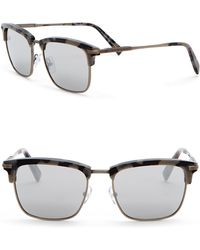 Z Zegna - 53mm Clubmaster Sunglasses - Lyst