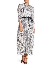 Eva Franco - J'adore Printed Maxi Dress - Lyst