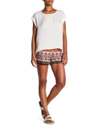 PPLA - Issey Printed Short - Lyst