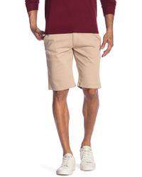 Mavi - Jacob Oxford Tan Twill Shorts - Lyst