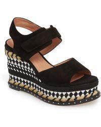 Caslon - (r) Braxton Platform Wedge Sandal (women) - Lyst