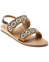 Matisse - Chica Beaded Slingback Demi Wedge Sandal - Lyst