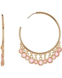 Trina Turk - Shakey 45mm Hoop Earrings - Lyst