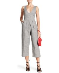 Line & Dot - Belen V-neck Jumpsuit - Lyst