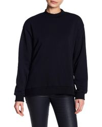 Lucca Couture - Leah Back Belt Sweatshirt - Lyst