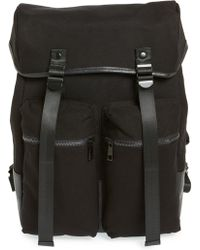 TOPMAN - Canvas Backpack - Lyst