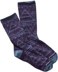 Smartwool - Wenona Printed Crew Socks - Lyst