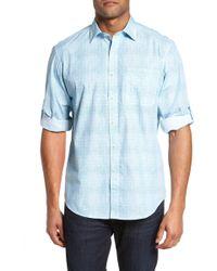 Bugatchi - Classic Fit Print Sport Shirt - Lyst