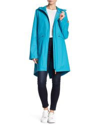 Save The Duck - Hooded Raincoat - Lyst