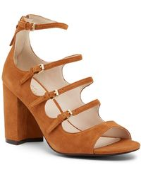 Cole Haan - Cielo High Dress Suede Sandal - Lyst