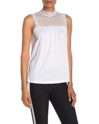 4900a7934 Women's Burberry Sleeveless and tank tops On Sale - Lyst