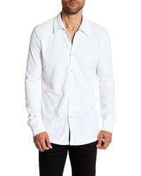 Robert Barakett - Kelowna Long Sleeve Sport Shirt - Lyst