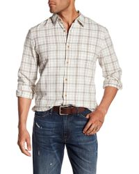 Lucky Brand - Heritage Plaid One Pocket Shirt - Lyst