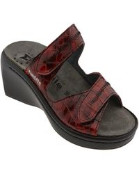 Mephisto - 'ulda' Leather Slide - Lyst