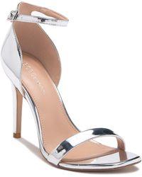 BCBGeneration - Irina Metallic Stiletto-heel Sandals - Lyst