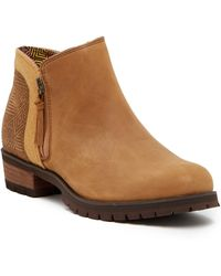 The North Face Bridget Waterproof Ankle Leather Bootie w4p2cVE
