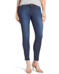 Wit & Wisdom - Skinny Ankle Jeans (petite) - Lyst