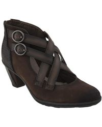 Earth - Earth 'amber' Buckle Bootie - Lyst